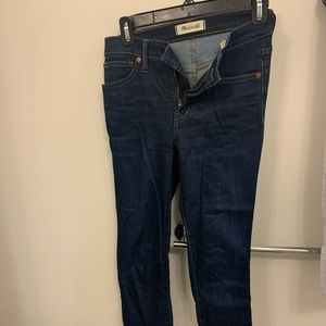 """Madewell Jeans High Rise 9"""", Size 25"""